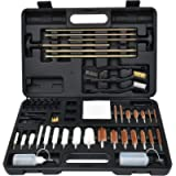 GLORYFIRE Universal Gun Cleaning Kit Hunting Handgun Shot Gun Cleaning Kit for All Guns with Case Travel Size Portable…