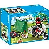 Playmobil Vacaciones - Motorista con tienda de campaña (5438)