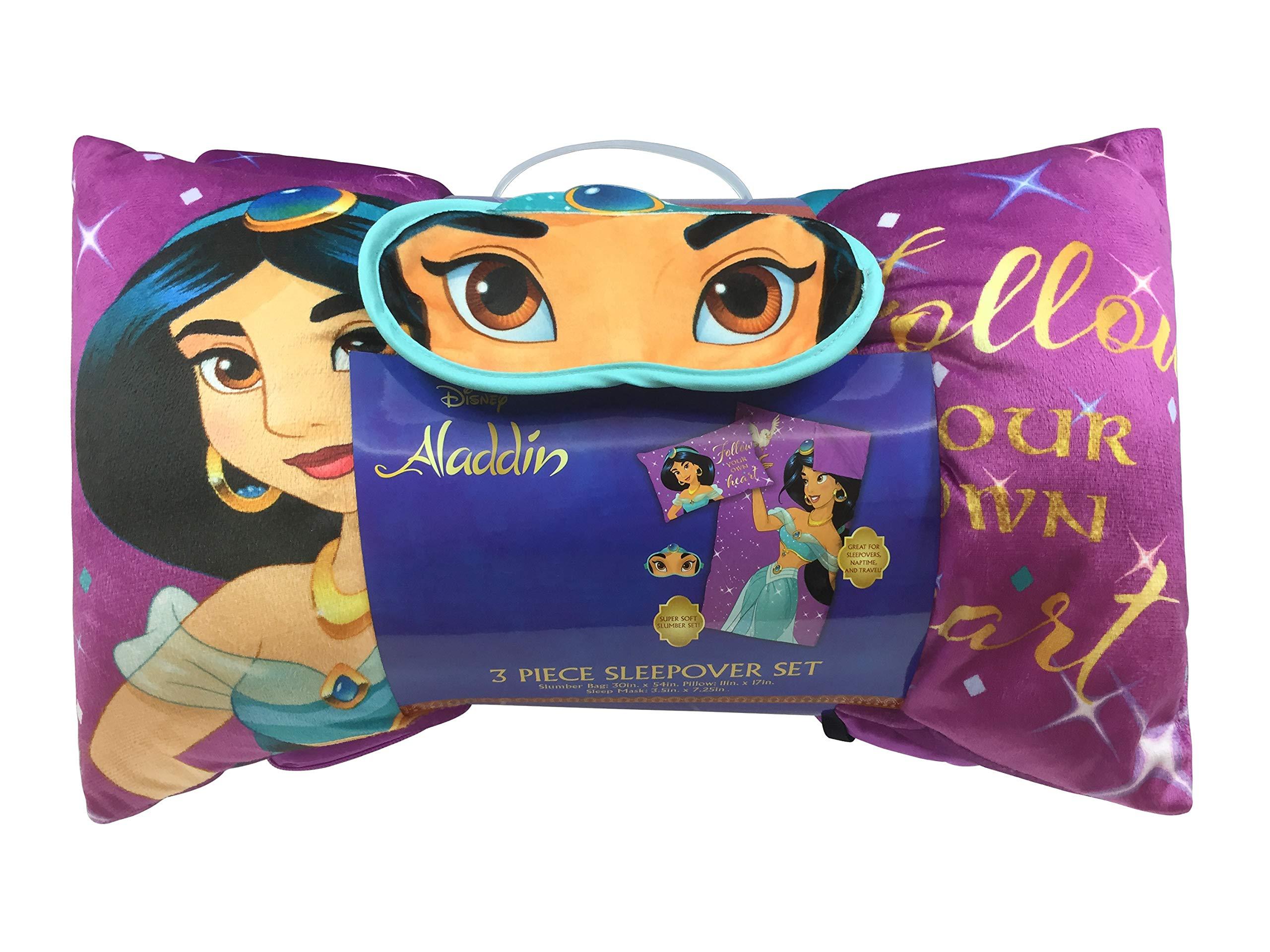 Jay Franco Disney Aladdin Magical 3 Piece Slumber Set, Purple by Jay Franco (Image #2)