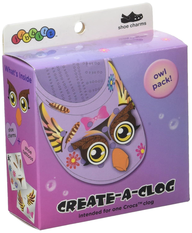 Crocs Owl Deck Out Bijoux de chaussures, Multicolore (-), Taille unique 10005145