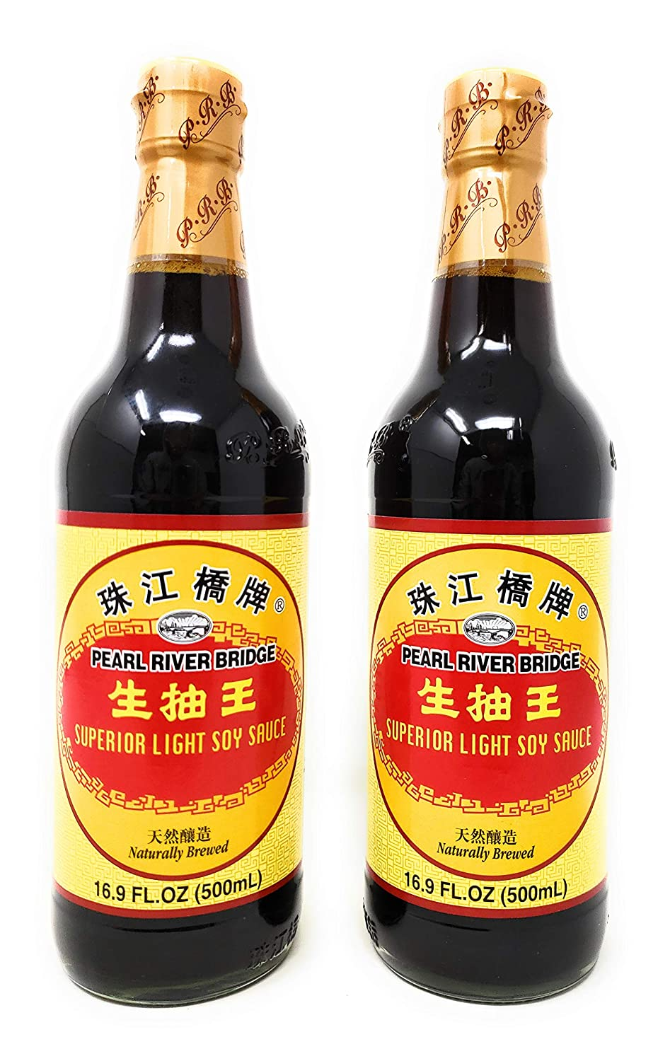 Amazon.com : Pearl River Bridge Superior Light Soy Sauce, 16.9 ...