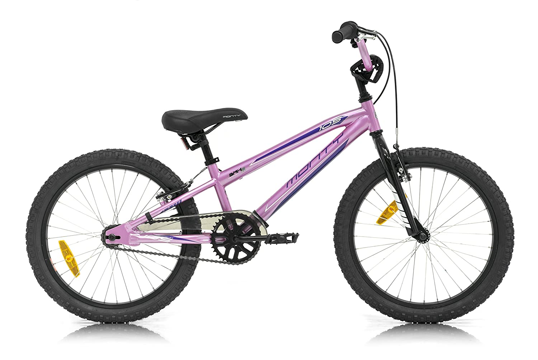 Monty 105 Bicicleta, Niños, Rosa, Talla Única: Amazon.es: Deportes ...
