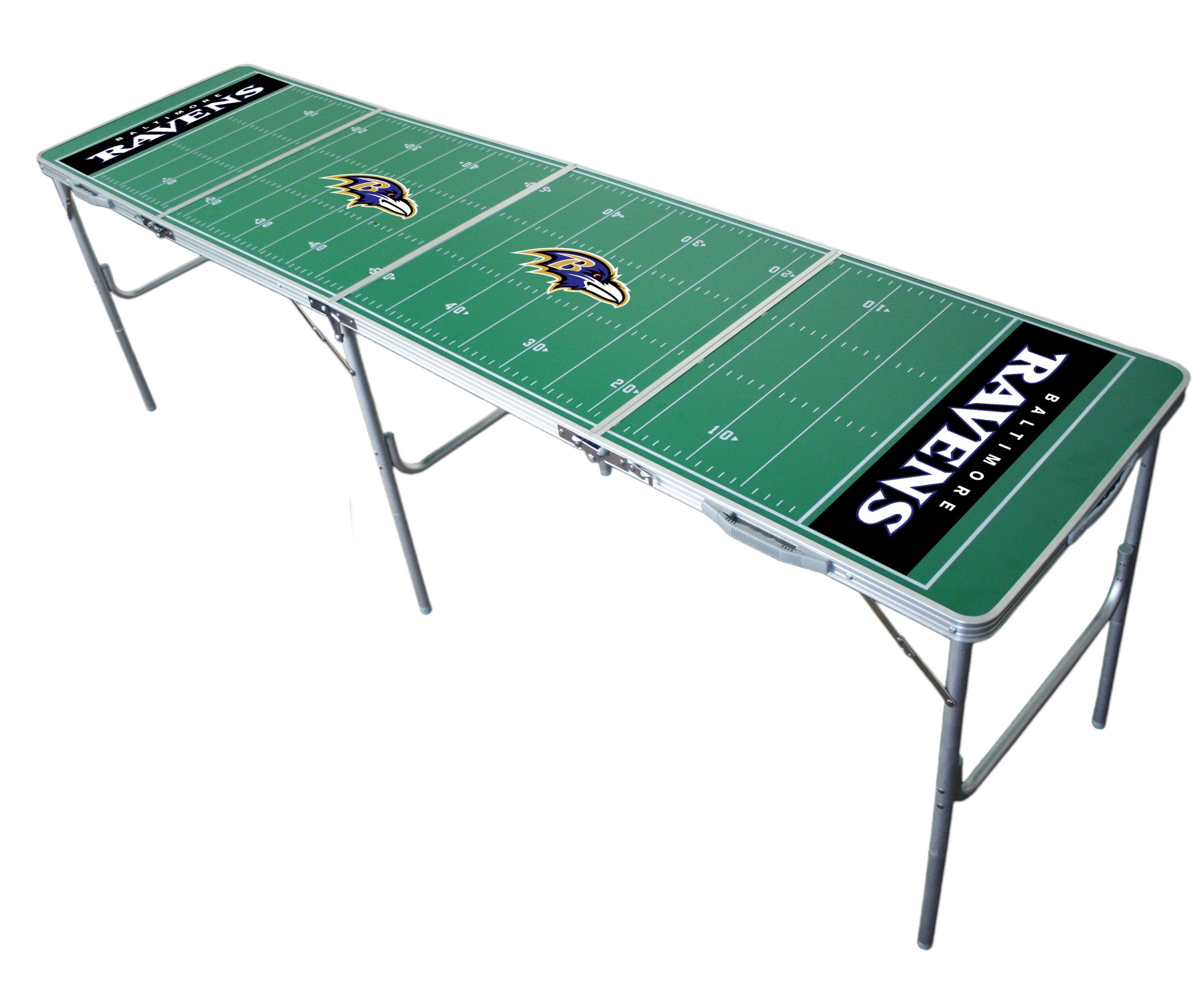 Baltimore Ravens 2x8 Tailgate Table by Wild Sports by Wild Sports