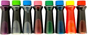 Candlewood Pantry Assorted Liquid Food Coloring Kit - 8 Bottles, 0.3 Ounces Each