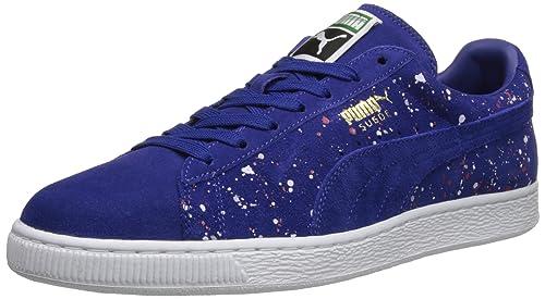 Puma Klassiker Splatte Form Lace up Fashion Sneaker