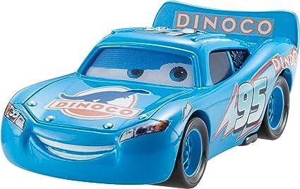 Amazon Com Disney Pixar Cars Dinoco Lightning Mcqueen Diecast