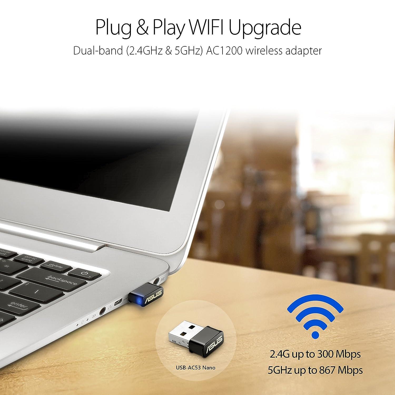 ASUS USB-AC53 NANO USB WIELESS ADAPTER TREIBER