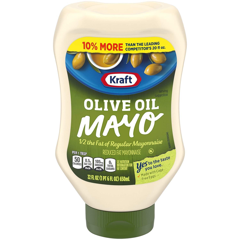 Kraft Mayonnaise with Olive Oil, 22 Fl Oz