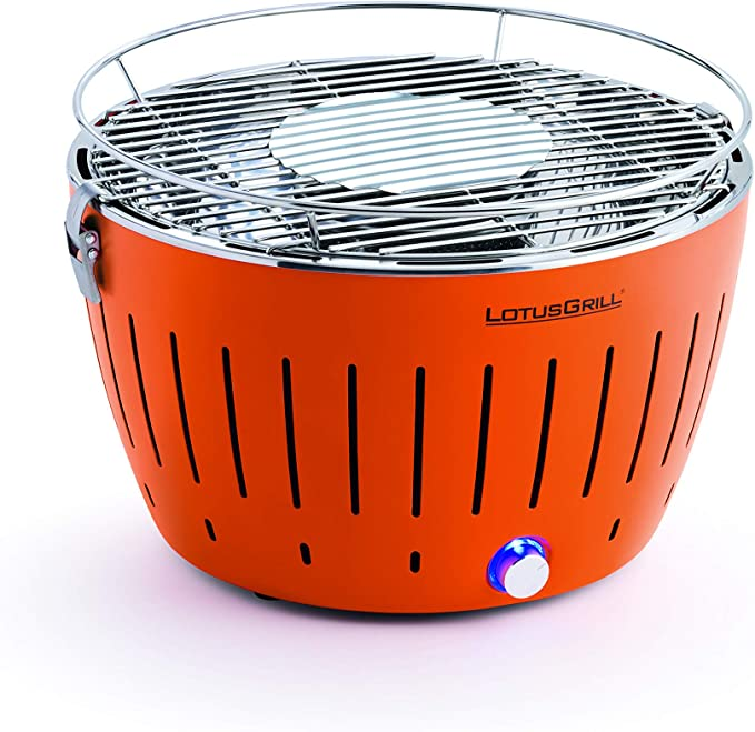 LotusGrill LOG-OR-435, Naranja, XL: Amazon.es: Jardín