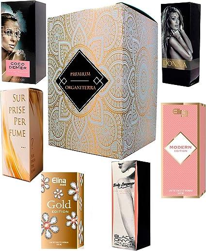 Set de 6 (seis) Perfumes para Mujer 15ml Cada uno en caja con ...