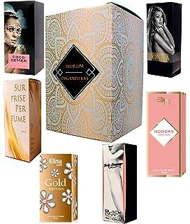 Charrier Parfums Lote de 10 miniaturas de perfumes, 57 ml en total: Amazon.es: Belleza