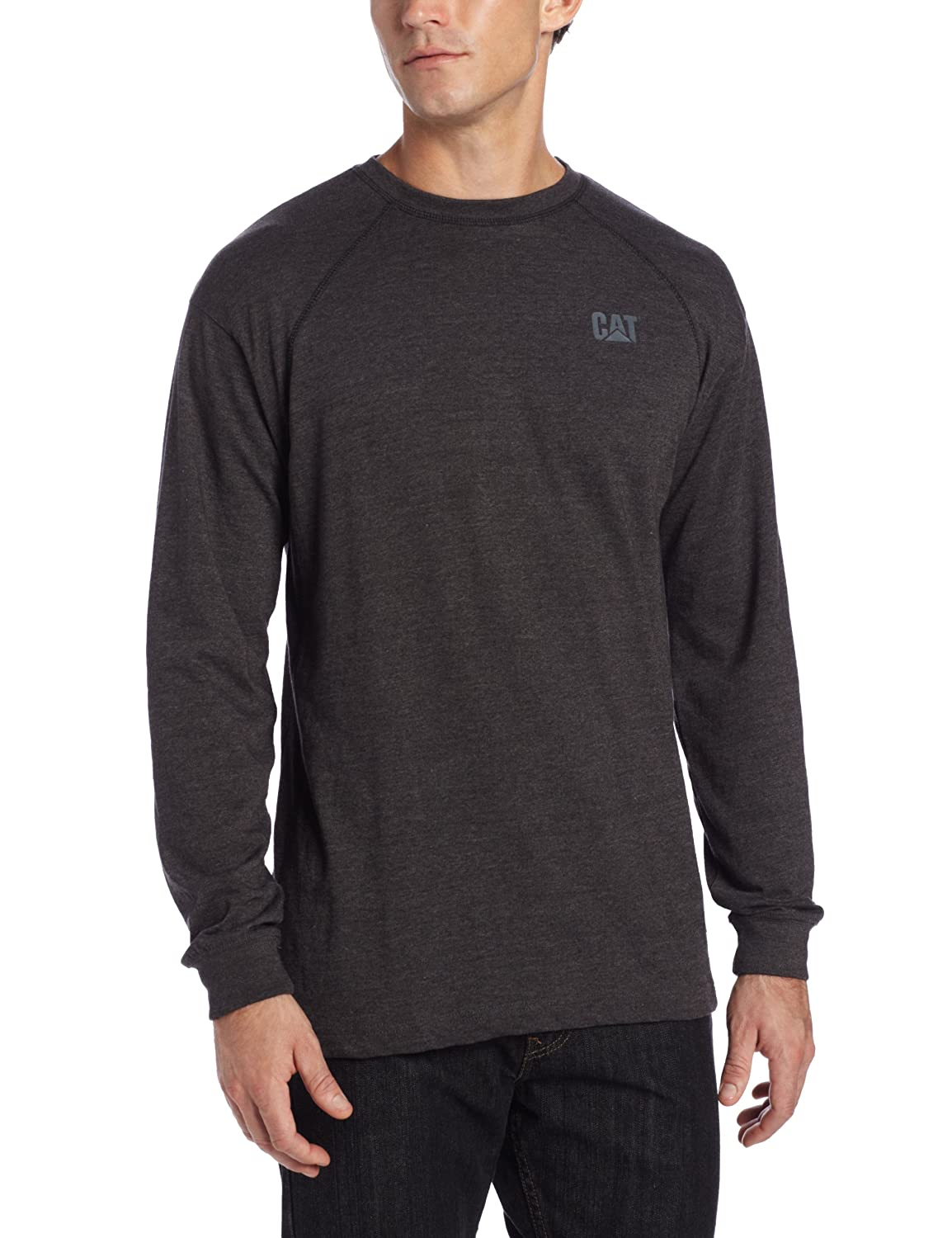 Caterpillar SHIRT メンズ B00EFRJ0X2 L|Charcoal Heather Grey Charcoal Heather Grey L