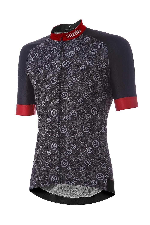 【即出荷】 [アールエイチプラス] ECU0634 Fashion Power Jersey ECU0634 63P 63P Jersey Gear Black-Red XL サイクルジャージ EU (日本サイズXL相当) B07MVWZXXK, ミリタリーショップ 中田商会:b930c583 --- brp.inlineteambrugge.be