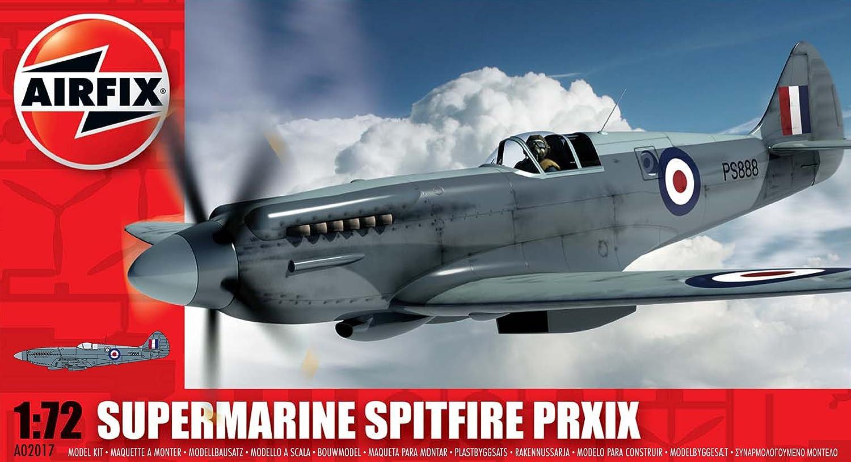 spitfire model kit. airfix a02017 supermarine spitfire prxix 1:72 scale series 2 plastic model kit: amazon.co.uk: toys \u0026 games kit 1