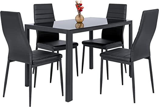 Amazon.com - Best Choice Products 5-Piece Kitchen Dining Table Set