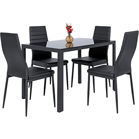 Amazon.Com - Best Choice Products 5 Piece Kitchen Dining Table Set