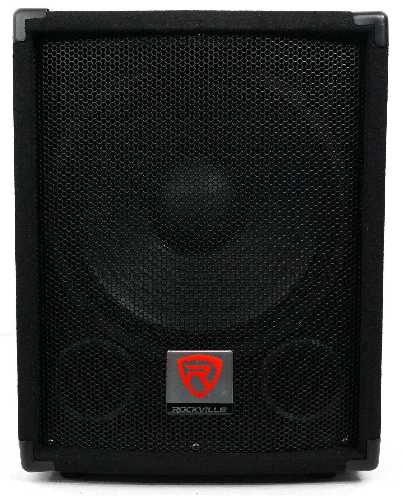 Rockville SBG1128 12'' 600 Watt Passive Pro DJ Subwoofer, MDF Cabinet/Pole Mount by Rockville (Image #1)