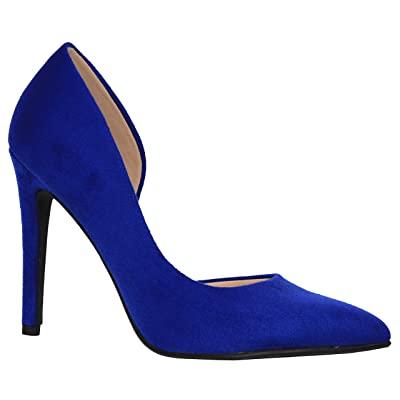 MVE Shoes Women's Classy Pointed High Heel Pumps | Pumps