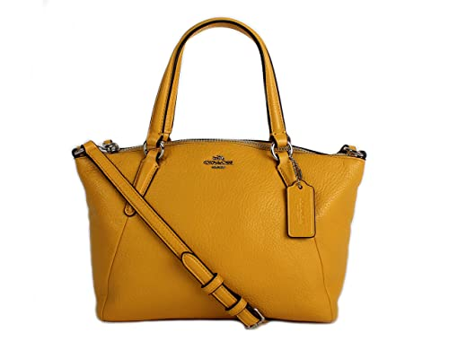 ba8551998 Coach Pebble Leather MINI Kelsey Satchel Crossbody Handbag, Banana:  Amazon.ca: Shoes & Handbags