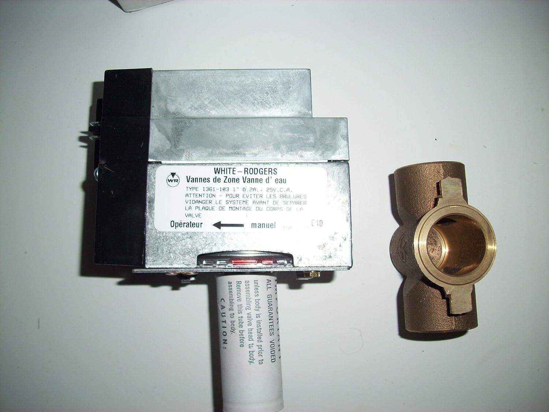 emerson 1361 103 2 wire hydronic zone valve hvac controls emerson 1361 103 2 wire hydronic zone valve hvac controls amazon com