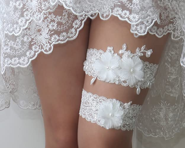 69fc68a7a Amazon.com  Wedding garter set