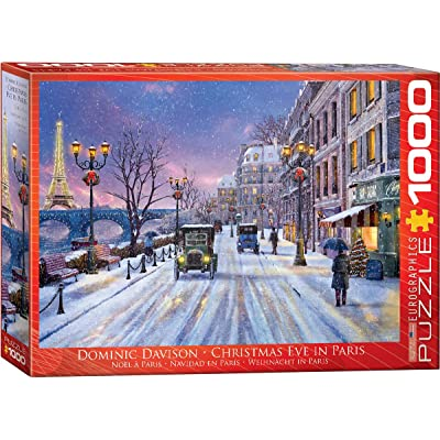 EuroGraphics Christmas Eve in Paris Puzzle (1000 Piece): Toys & Games