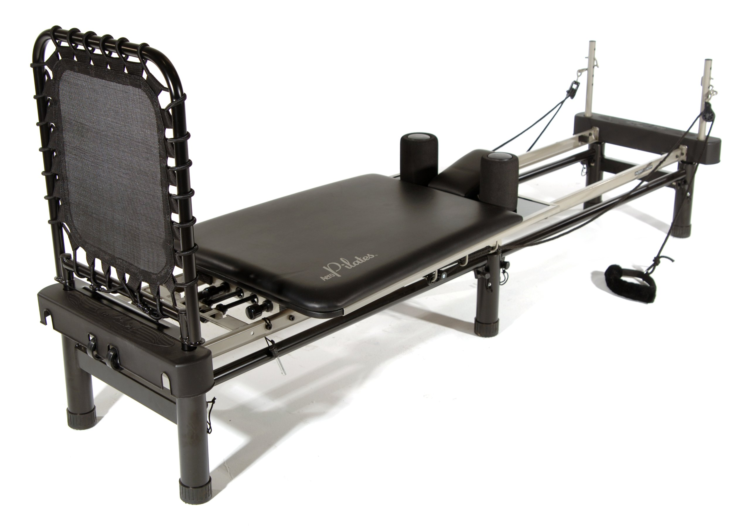 Stamina AeroPilates 700 Premier Reformer with Stand, Cardio Rebounder, Neck Pillow and DVDs by Stamina (Image #2)