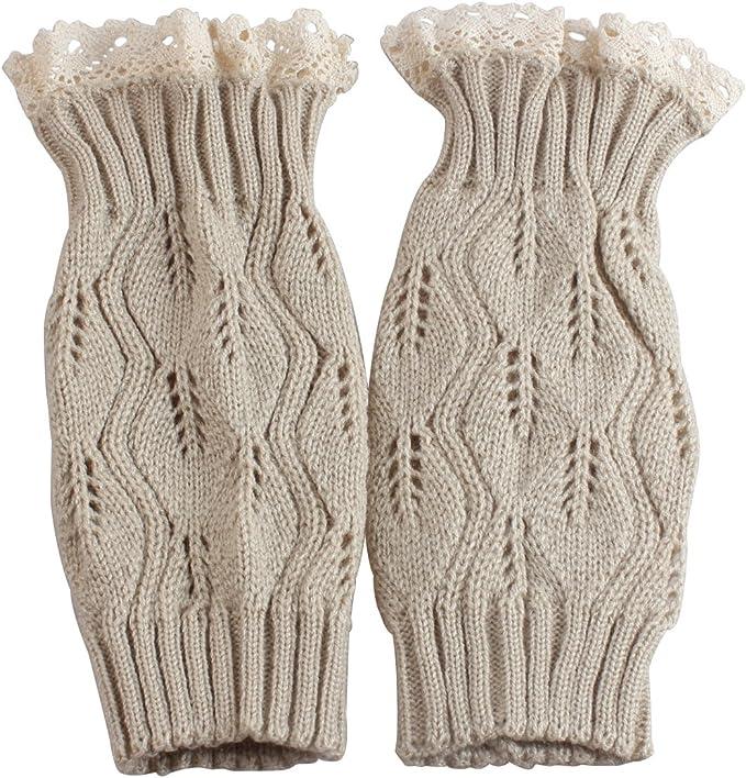 Amazon.com: Calentadores de piernas para mujeres, con ...