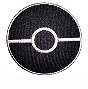 Master Balls in Pokemon Go Pokemon game patch Costume Cartoon Logo DIY Embroidered Sew Iron on Patch Cap Jacket Hoodie Backpack Ideal for Gift/ 7.5cm(w) X7.5cm(h)