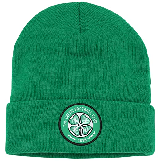 Official Soccer Football Merchandise Adult Celtic FC Core Winter Beanie Hat  (One Size) 5bc62283711