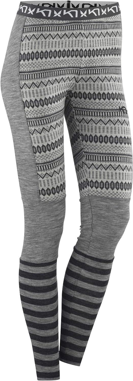 Kari Traa Women's Akle Base Layer Bottoms - 100% Merino Wool Thermal Pants