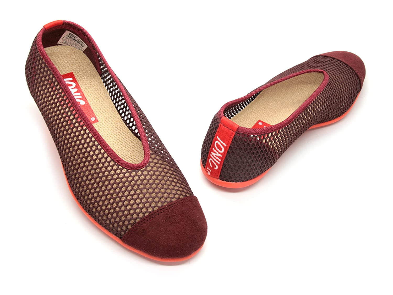 IONIC EPIC simply FABRIC footwear Women's Summer B00IEJ8EMK 7 B(M) US|Maroon