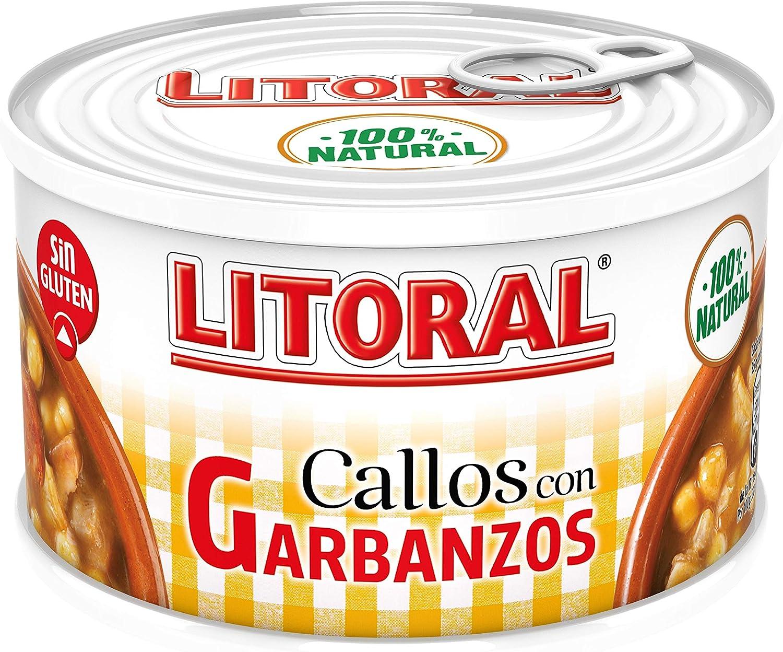 Litoral Plato Preparado de Callos, con Garbanzos, sin Gluten ...