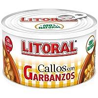 LITORAL Callos con garbanzos, Plato Preparado Sin Gluten