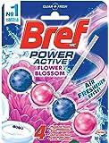 Bref Power Active Flower Blossom, Rim Block Toilet Cleaner, 50g