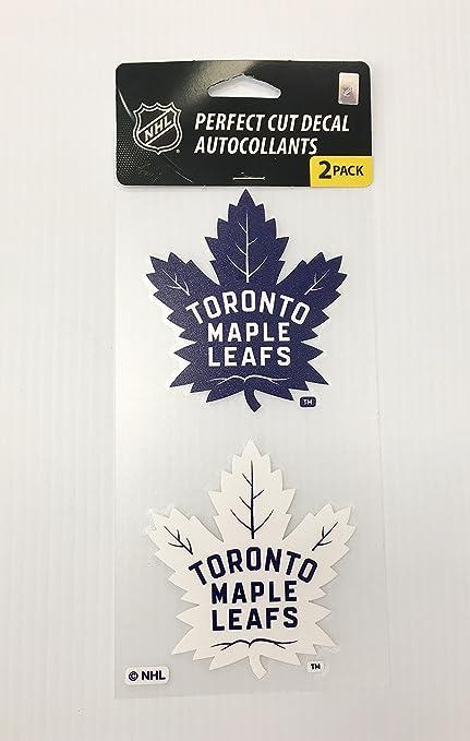 Amazon Com Wincraft Nhl Toronto Maple Leafs 4x8 Die Cut Decal Sticker Sports Outdoors