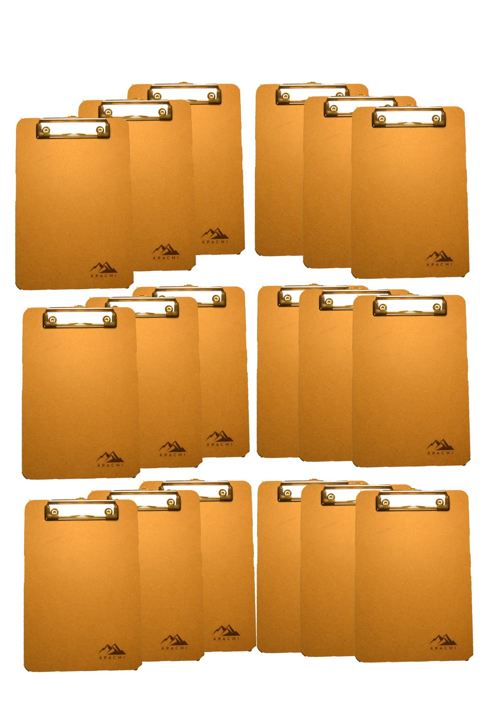 Apachi Mini Clipboards (6''x9'') 18 Pack/Memo clipboards