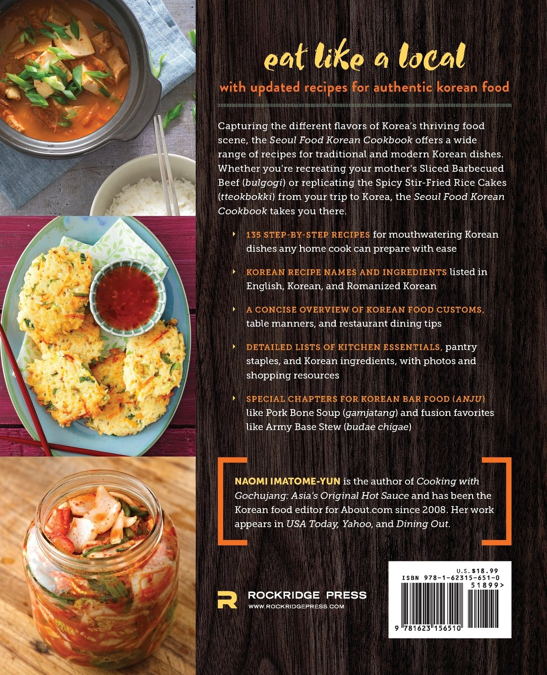 Seoul food korean cookbook korean cooking from kimchi and seoul food korean cookbook korean cooking from kimchi and bibimbap to fried chicken and bingsoo naomi imatome yun 9781623156510 amazon books forumfinder Image collections