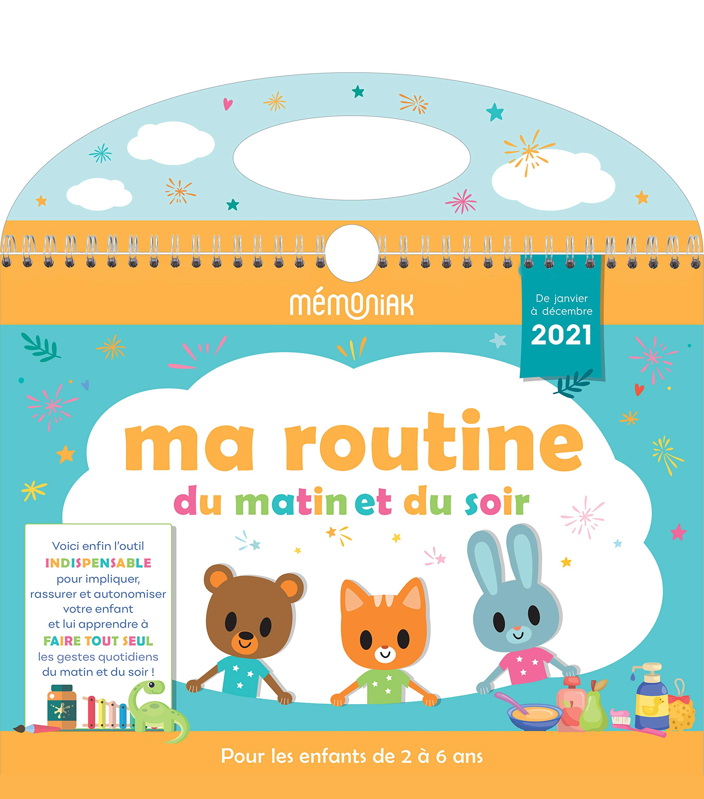 Ma routine du matin et du soir Mémoniak 2020 2021 (CALENDRIERS