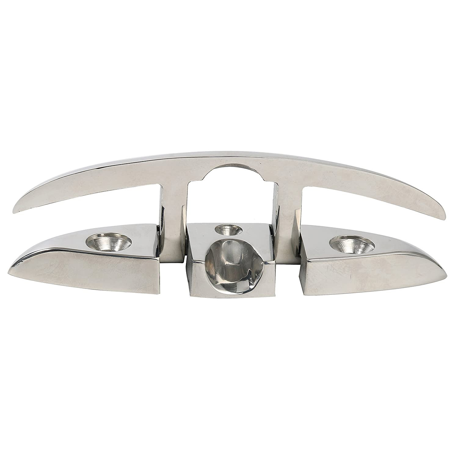 """6/"""" Stainless 316 Folding Cleat 316 Flip Up Dock Cleat For Boat"""