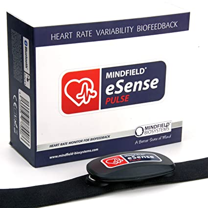 Mindfield eSense Sensor de frecuencia cardíaca y pulsómetro con App ...