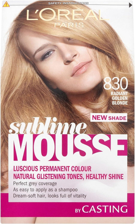3 x l oreal paris Sublime Mousse permanente color 83 ...
