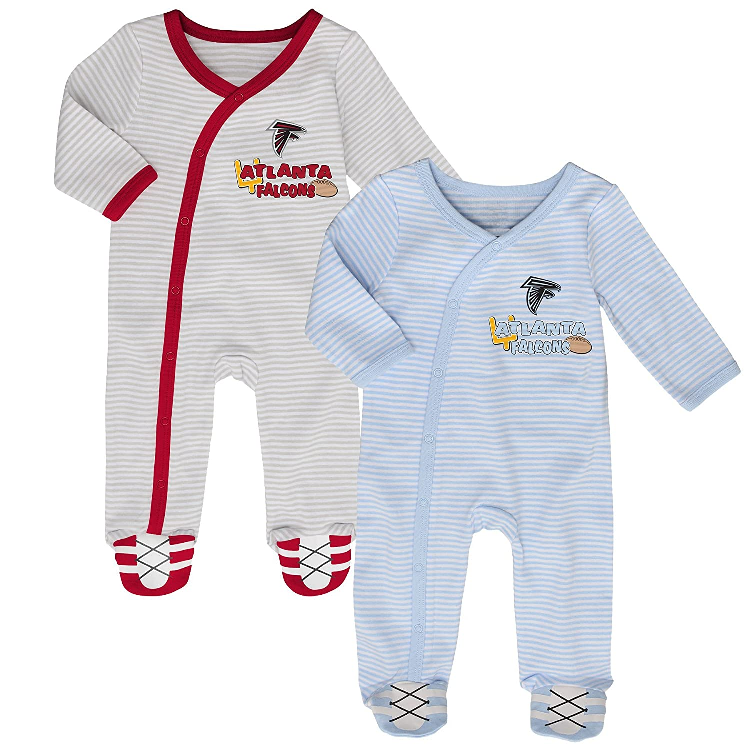 "Amazon NFL Newborn ""Sunday Best"" 2 Piece Coverall Set Sports"