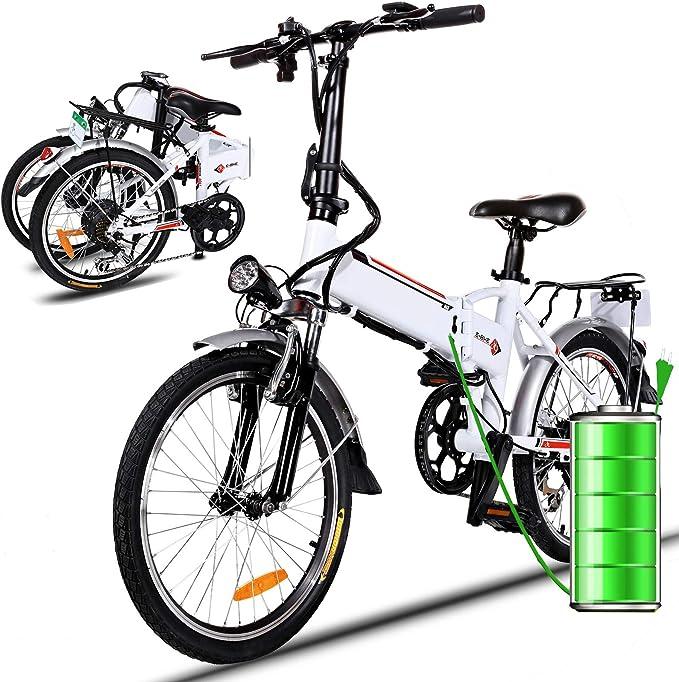 Eloklem Bicicleta eléctrica de montaña, 250W, Batería 36V 8Ah ...