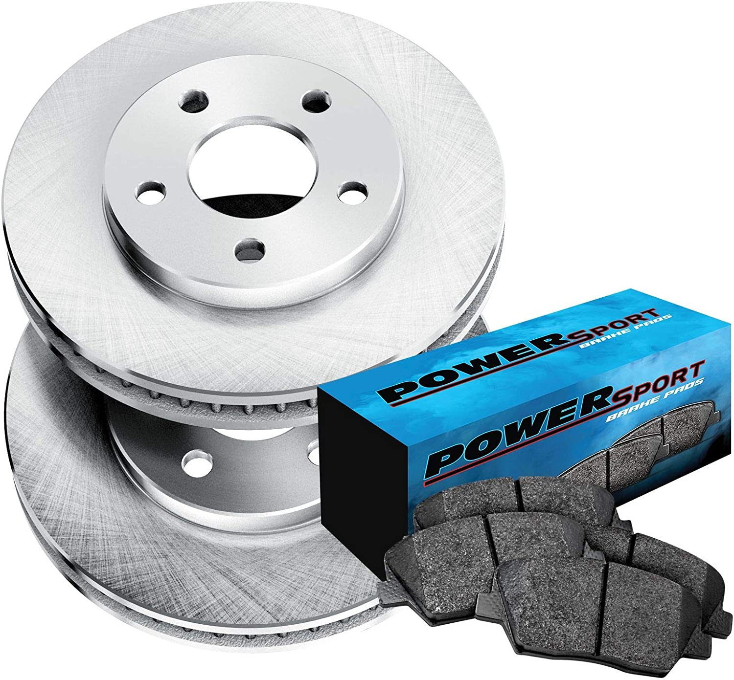 For Volvo S60 S80 V70 XC70 Set of 2 Front /& 2 Rear Disc Brake Rotors w// Pads