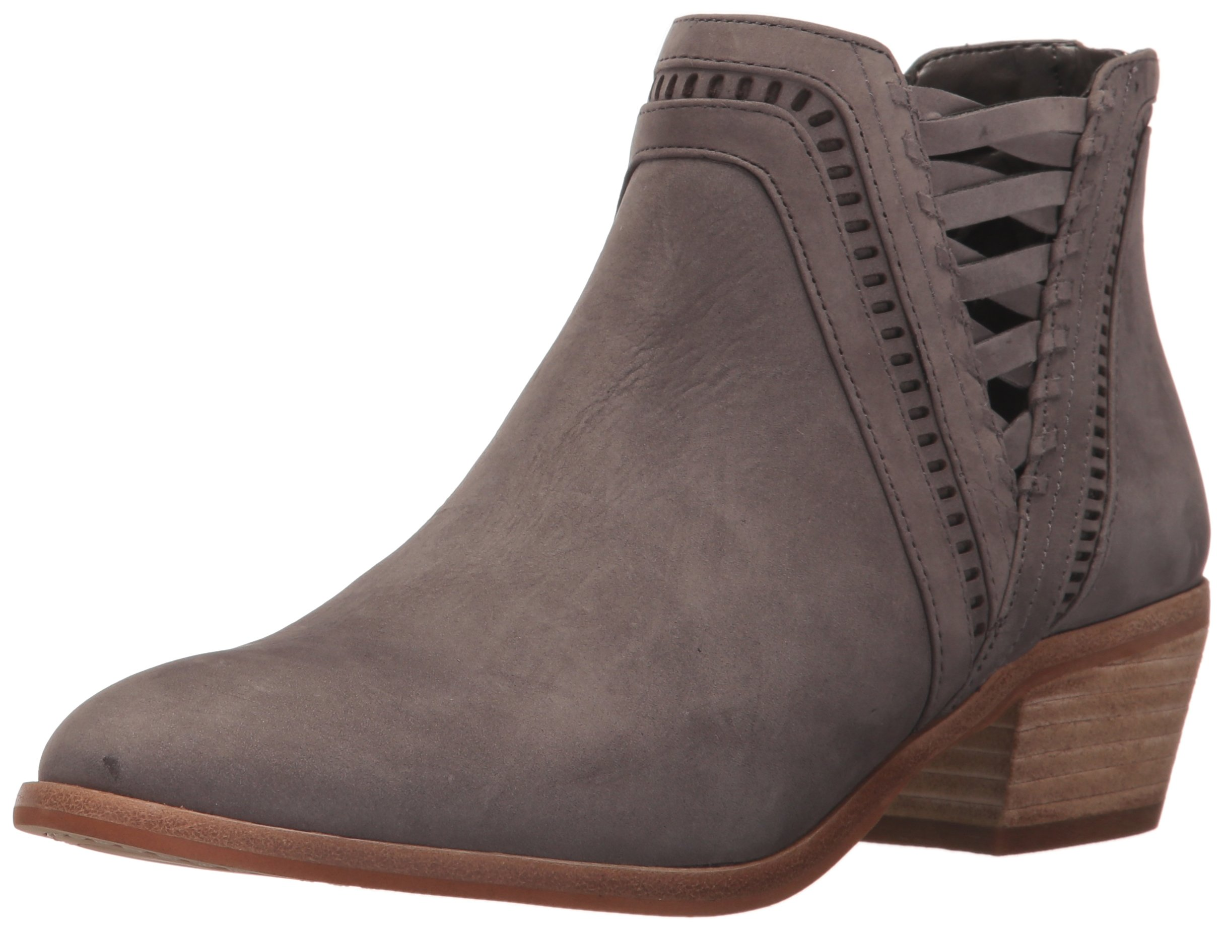 Vince Camuto Women's PIMMY Ankle Boot, Gray Stone, 11 Medium US