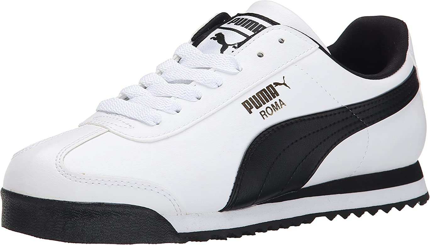 Puma 895540 Roma - Bañador para Hombre, Talla 37,5, Color Blanco y ...