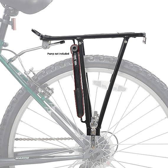 """Porte bagage arrière /""""M-WAVE Screw on II A/"""" Noir réglable pour vélo 28/""""//26/""""//24/'/'"""