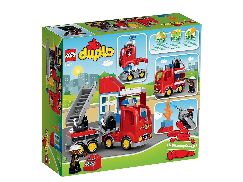 günstig kaufen LEGO Duplo Bagger & Lastwagen 10812