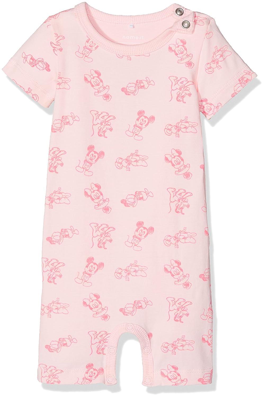 NAME IT Unisex Baby Nitmickey Rene Ss Top Uni Mznb Wdi T-Shirt